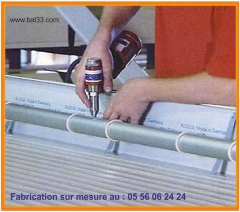 Fabrication de volet roulant bordeaux gironde for Volet roulant piscine sur mesure